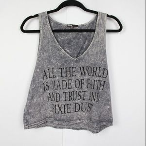 Love Culture Graphic Cropped Tank S